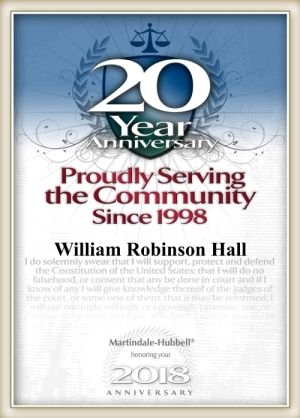 20 Year Anniversary - Proudly Serving the Community Since 1998